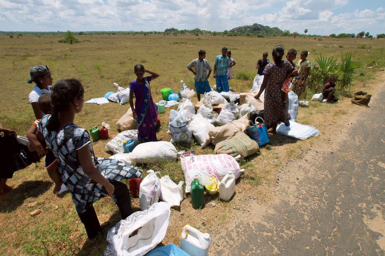 Click to enlarge: Offloaded - Sri Lanka Internally Displaced Persons