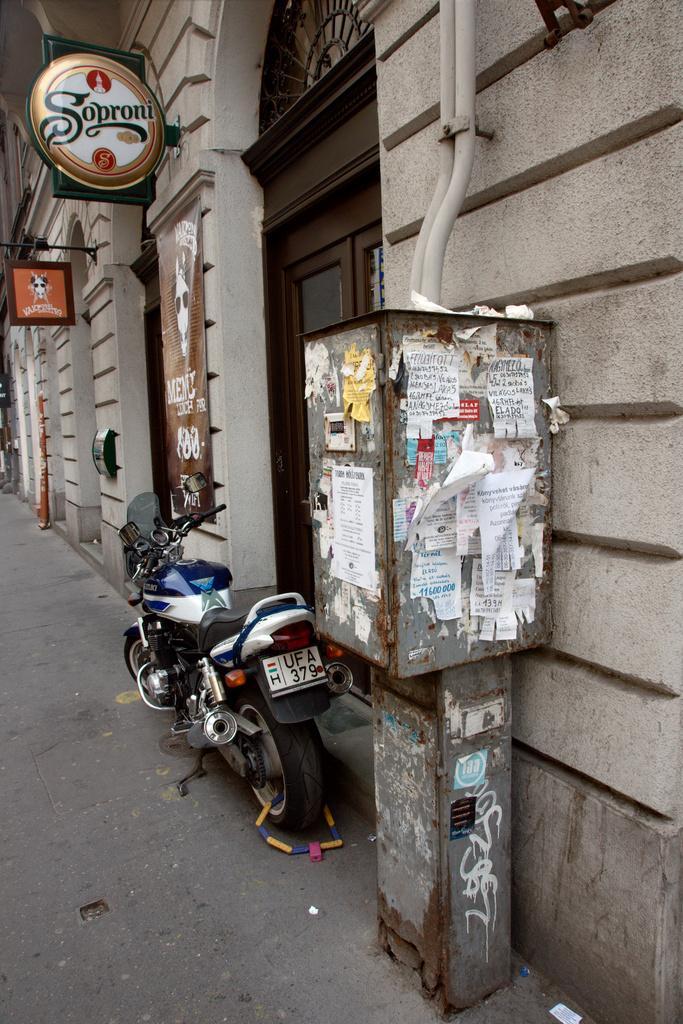 Soproni Ad, Motobike, Budapest