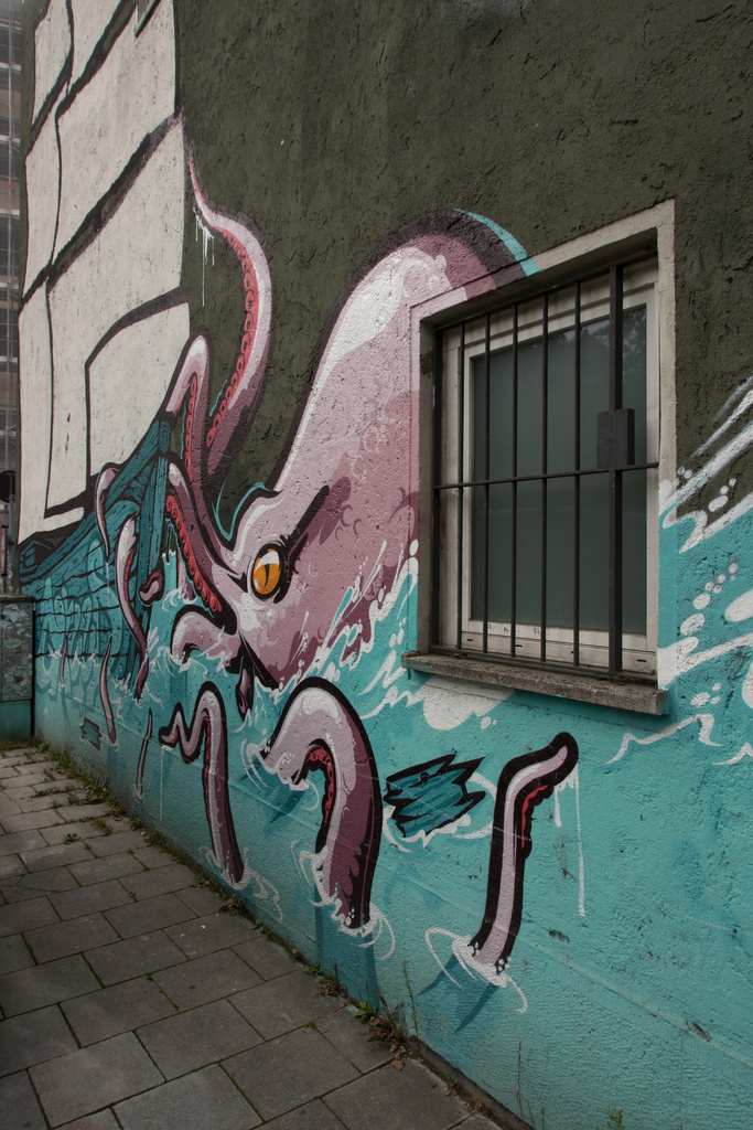Click to enlarge: Urban Octopus