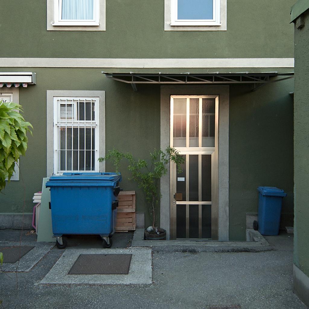 Click to enlarge: Green Backyard [f/4.5, 1/80 sec, 6mm-e, ISO 100, DMC-LX3]