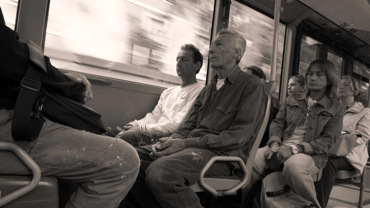 Tired Commuters