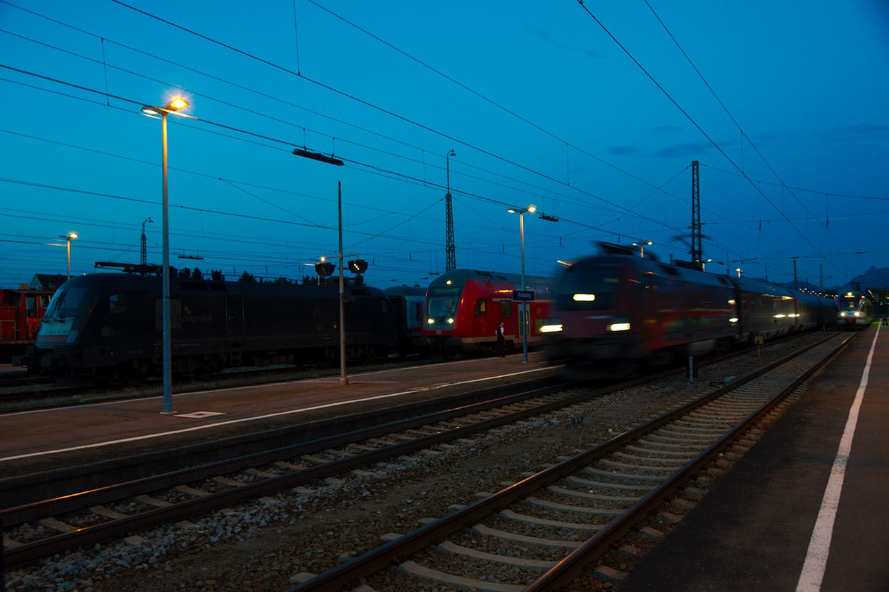 Express Train Passing