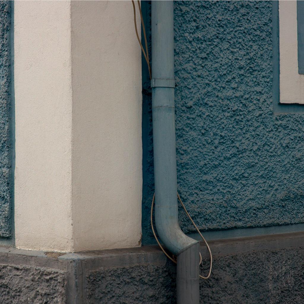 Blue Drainpipe