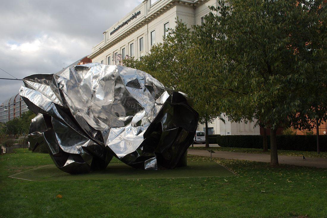 Crumpled Art: Blog, Main Blog, Sculpture, Subject, Things, Urban