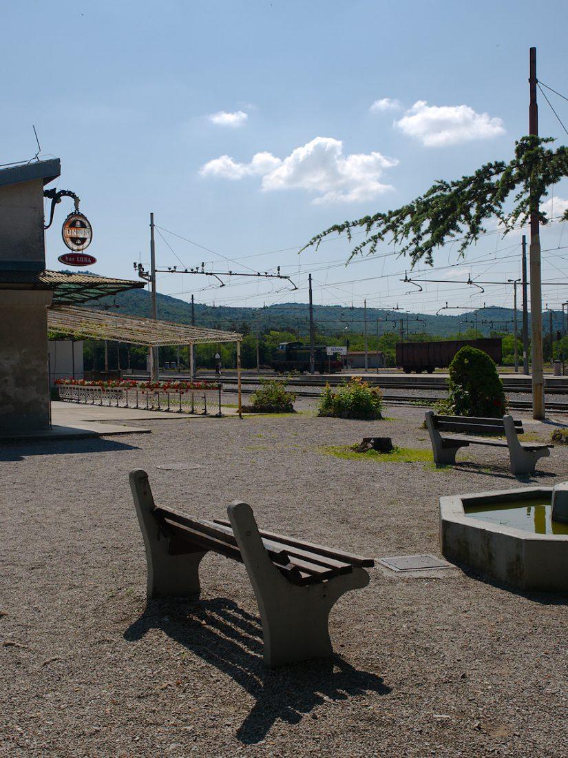 Železniška postaja: Blog, Status