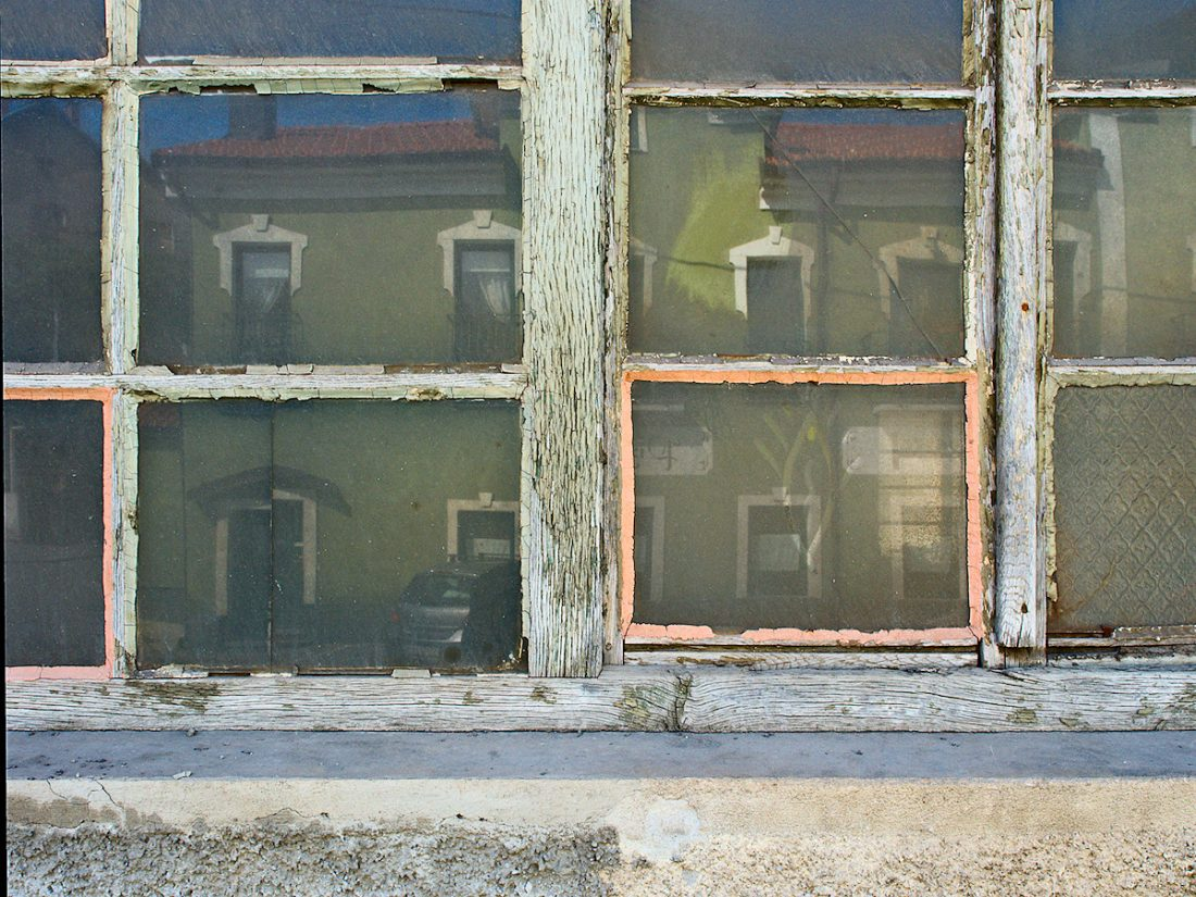 Old Glass: Blog, Urban, reflection