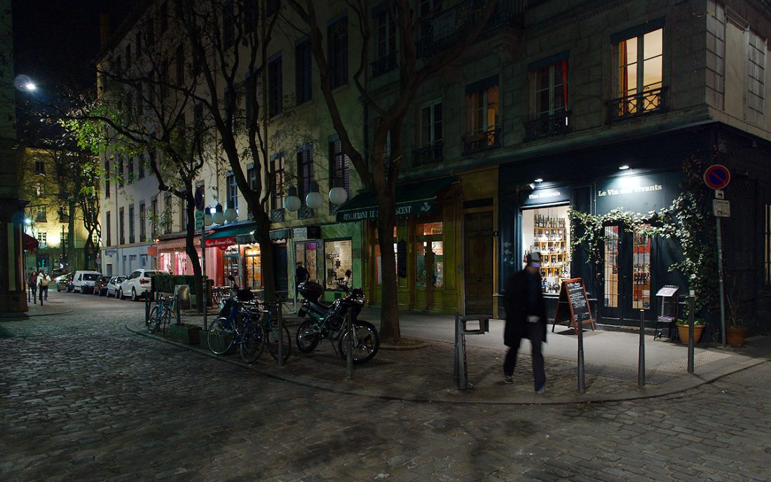 Le Vin Des Vivants: Blog, Urban, night