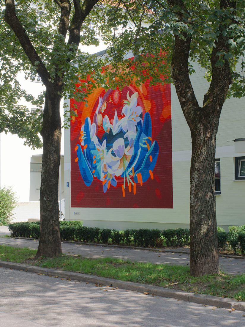 Floral Mural: Blog, Urban