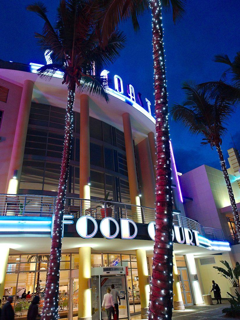 Food Court: Blog, Urban, night
