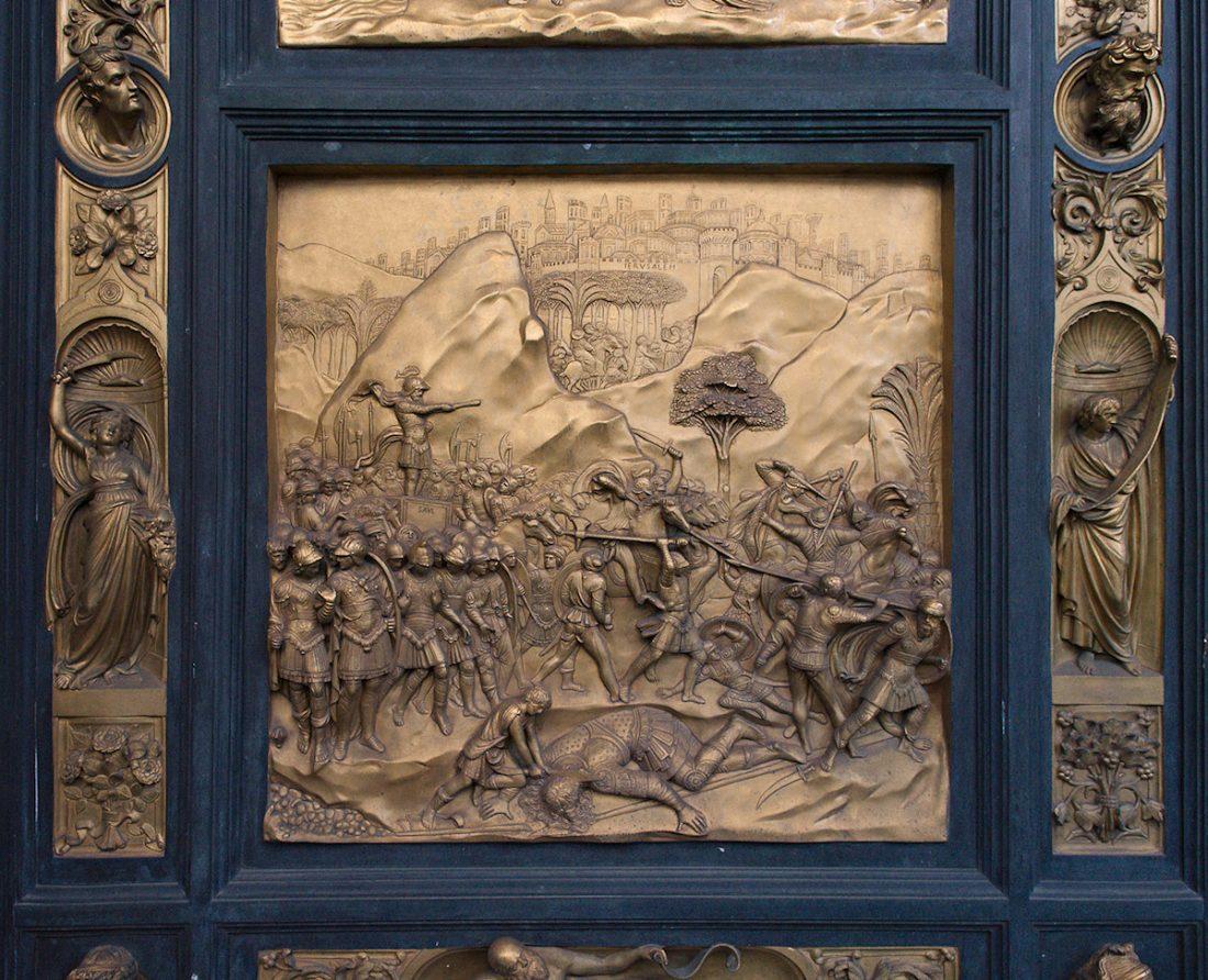 David vs. Goliath: Blog, Bronze, Ghiberti, Replica, Urban