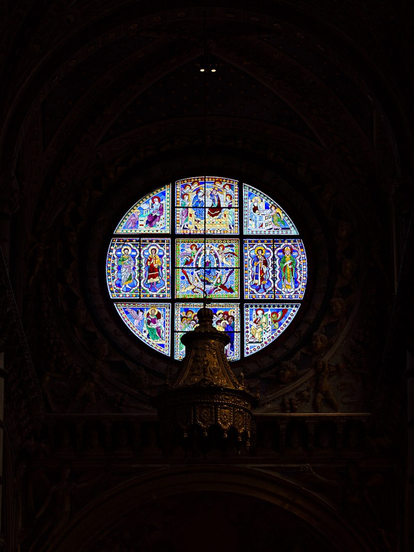 Stained Glass Window: