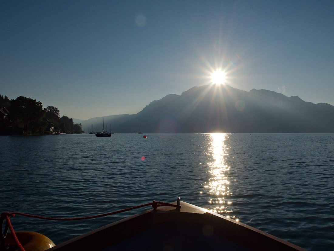 Unterach Sunrise: Blog, Landscape, Magda, WP