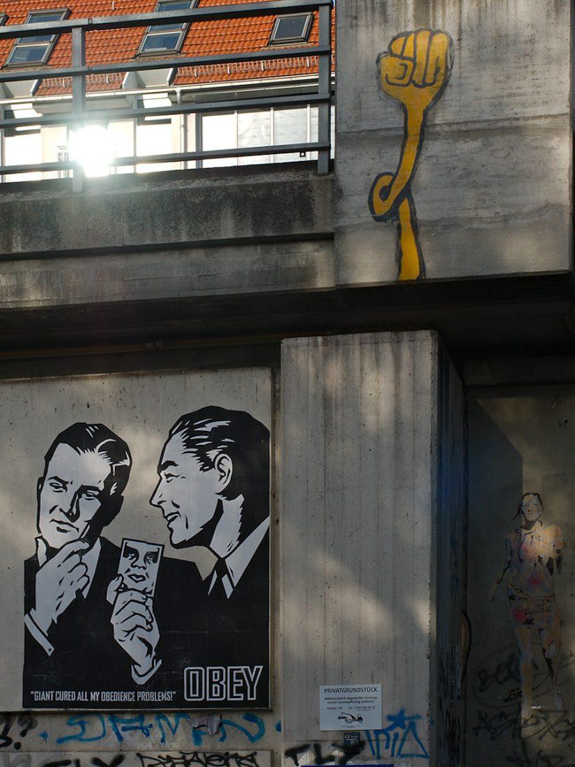 OBEY goes Berlin: Blog, Graffiti, Urban