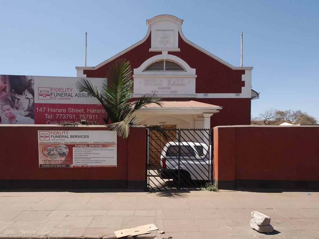 Jewish Synagogue in Harare, Zimbabwe