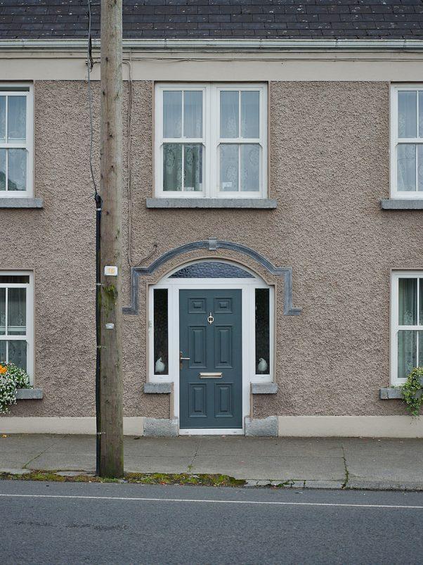 Decorated House Facade in Shannonbridge, Ireland