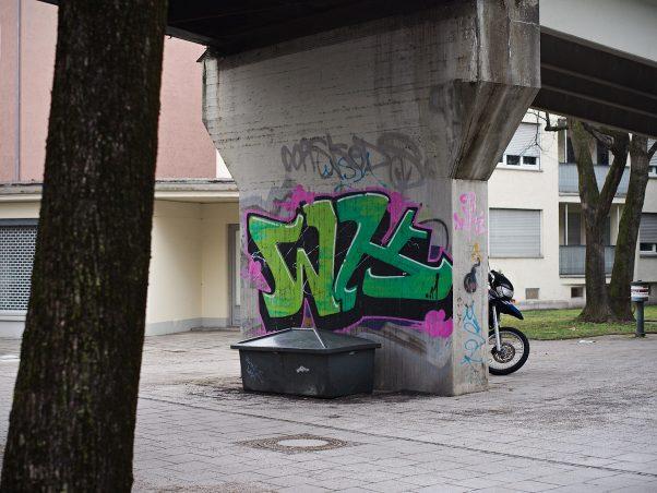 Bike on the Prowl, Landshuter Allee, Munich