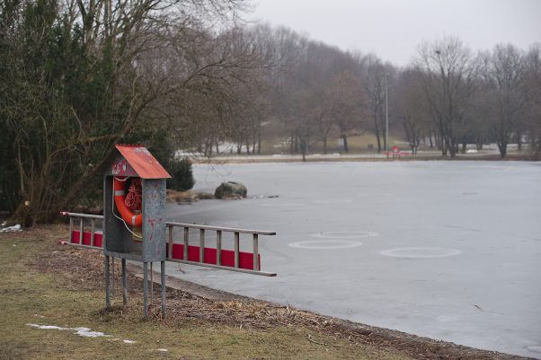 Ice Rescue Gear, Westpark, Munich