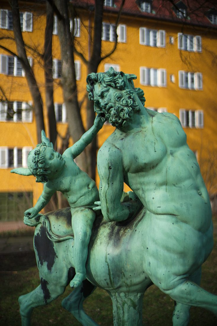 Kentaur and Hermes, Borstei, München
