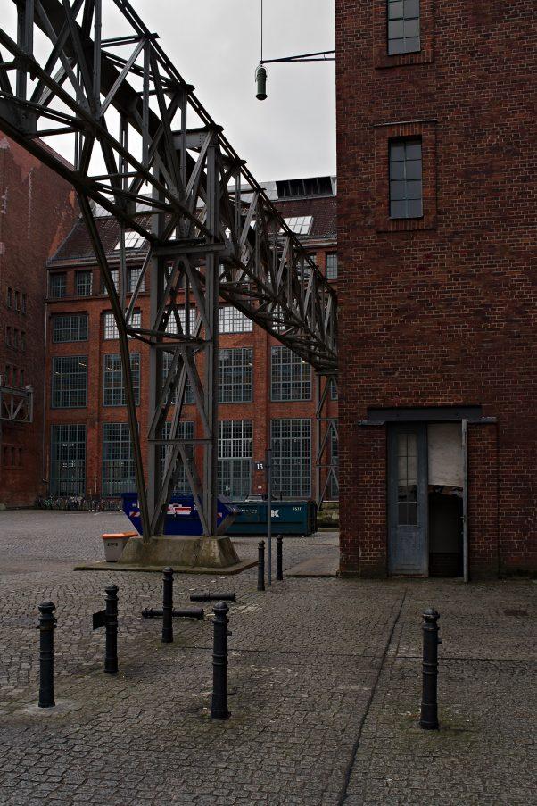 Former AEG Plant, Hussitenstr., Berlin