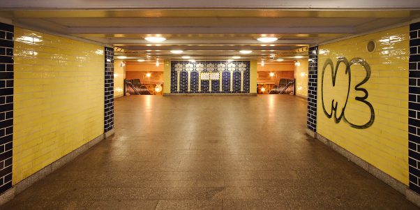 Subway Entrance, Klosterstr., Berlin