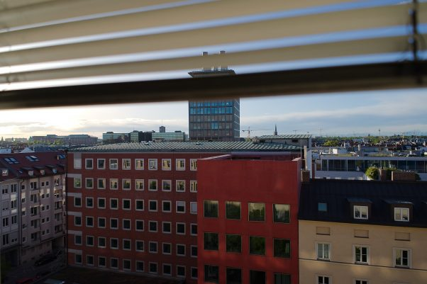 Anticipated Nostalgia IX - Spring Light, Blumenstr., Munich, Bavaria, Germany, City, The Seven, Urban, High Riser