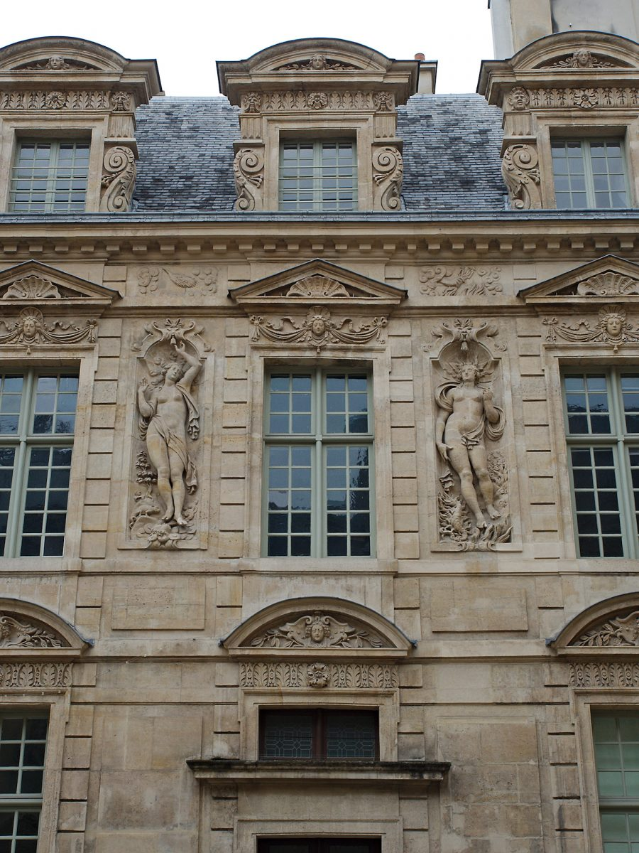 Abundand Decoration, Hotel de Sully, Paris, Architecture, Common Places, Urban