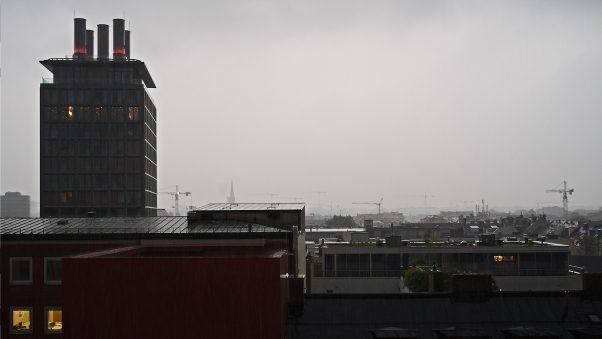 Anticipated Nostalgia - Morning Rain, Blumenstr, Munich, The Seven, Urban