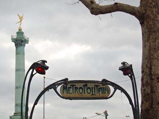 Art Nouveau, Place de la Bastille, Paris, Urban