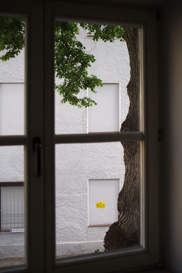 Nature, keep out!, Altes Feuerhaus, Bad Reichenhall, City Trees, Urban