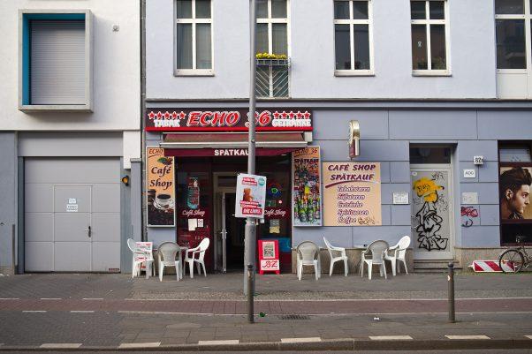 Spätkauf Echo 36, Wilhelminenhofstraße 80, Berlin, Pentax-M 2.8/40mm., Street, Urban, , geotagged