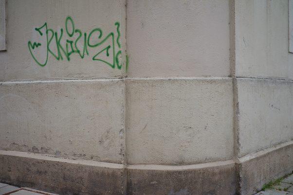 City Green consisting of Graffiti and Weeds, Unterer Anger / Klosterhofstr., Munich, Graffiti, Urban, Weese Weeds