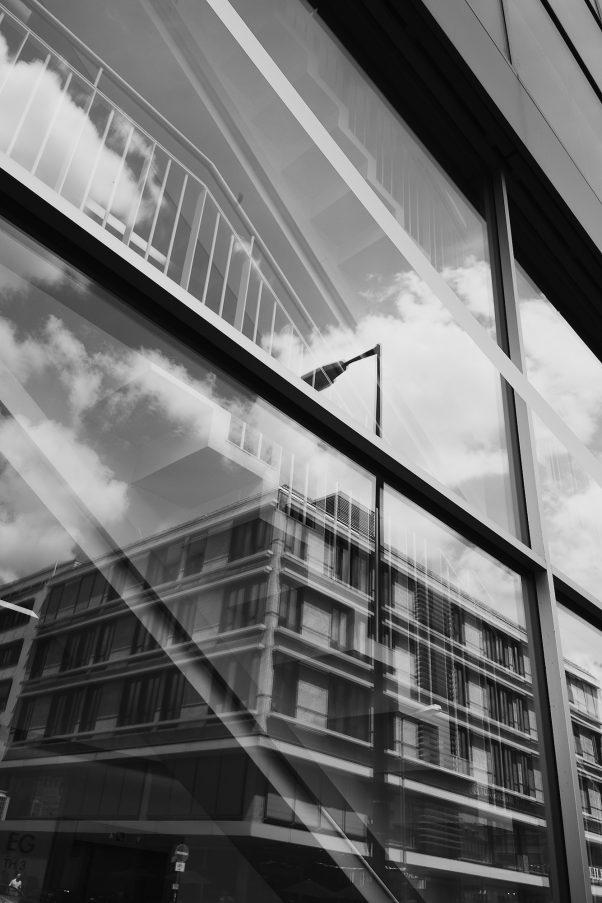 Staircase and more, Josephspitalstr., Munich, Black & White, Urban