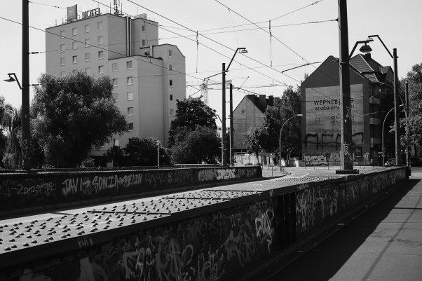 Tagged Bridge, Treskowbrücke, Berlin, geotagged, Black & White, Common Places, Graffiti, Urban
