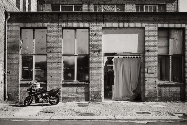 This Machine kills Fascists, Wilhelminenhofstraße, Berlin, geotagged, Black &, Common Places, Urban, , White