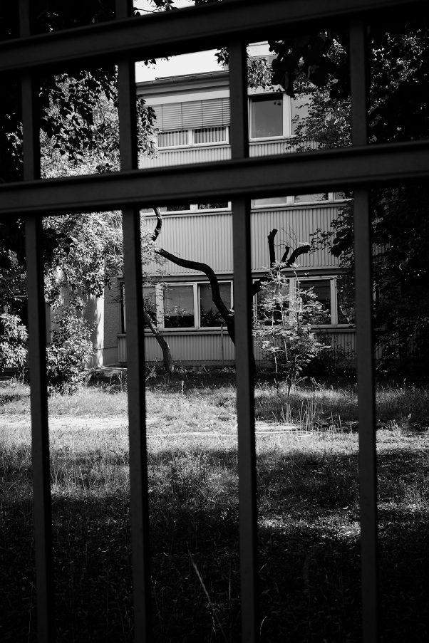 Trunk, Schnellerstraße 138, Berlin, geotagged, Black & White, Common Places, Urban