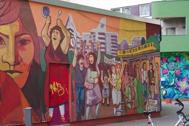 The Racists's Nightmare, Skalitzer Straße, Berlin, geotagged, Common Places, Graffiti, Pentax-M 2.0 85mm, Urban