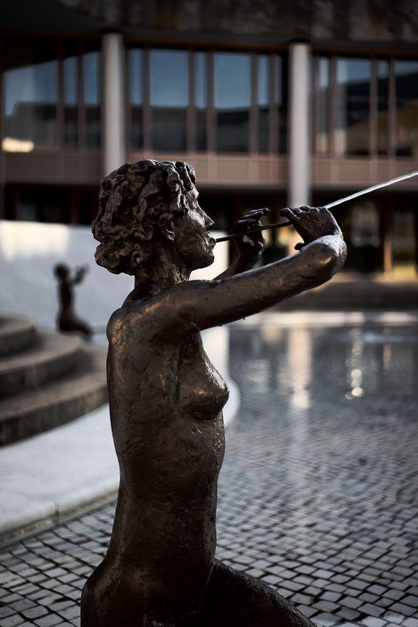 Flute Players, Kurgastzentrum, Bad Reichenhall, Urban