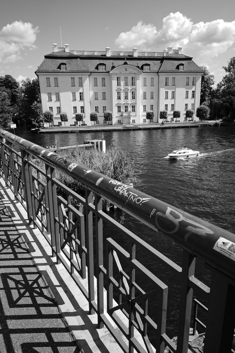 Köpenick Palace, Lange Brücke, Berlin, geotagged, Black & White, Common Places, Urban