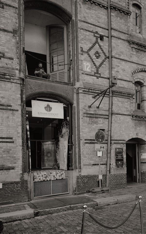 KHAMODDOST, Brook, Hamburg, geotagged, Black & White, Common Places, Urban