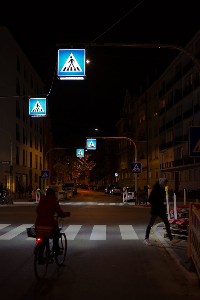 Midnight in Schwabing, Georgenstr., Munich, Night, Street, Urban