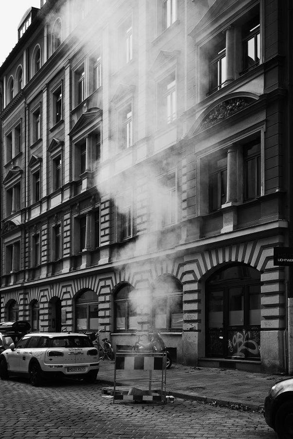 New York, New York, Glockenbachviertel, Munich, Black & White, Urban
