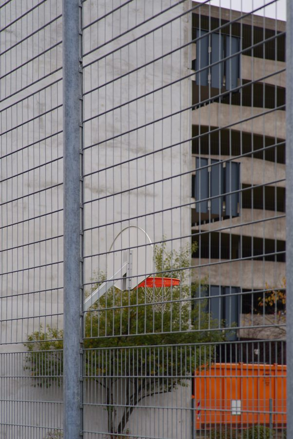 On the other Side of the Fence, Bauzentrum, Riem, Munich, Urban
