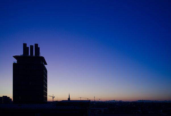Anticipated Nostalgia IXX - Blue Hour, Blumenstr., Munich, The Seven, Urban