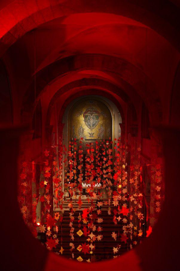 Holy Trinity above the Stars, St. Nikolaus, Bad Reichenhall, Urban, ,  Christmas