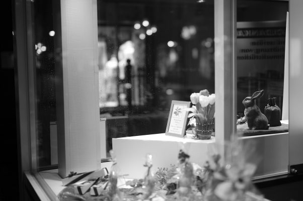 Waiting for Easter, Ludwigstr., Bad Reichenhall, Black & White, Corona, Easter, Urban